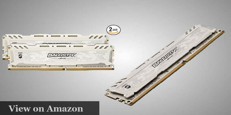 Ballistix Sport 8GB DDR4 RAM Pc Build Under $1000
