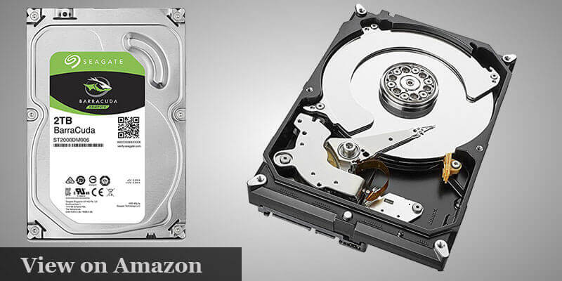 Seagate BarraCuda 2TB Hard Drive Pc Build UNDER $1000