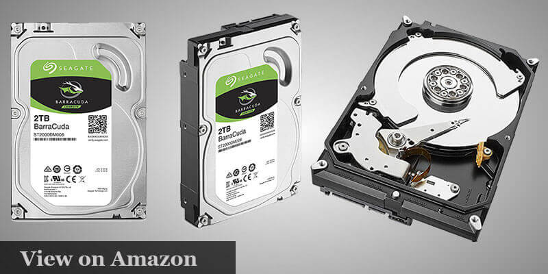 Seagate BarraCuda 2TB Hard Drive Pc Builder under $1000