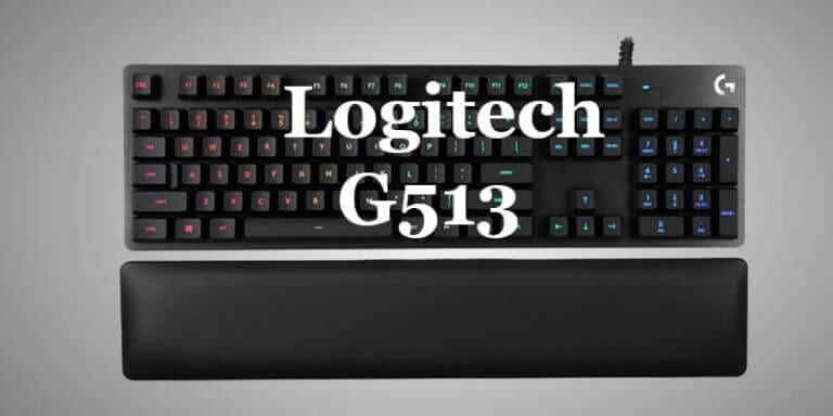 logitech g513 with romer-g review