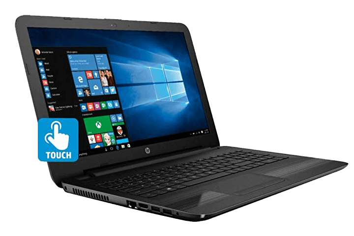 HP 15- best touchscreen laptop under 500 dollars
