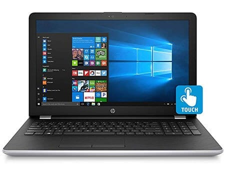 HP 15.6 Touchscreen Laptop