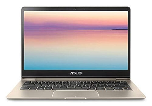 ASUS ZenBook 13 UX331UA with illuminated keyboard