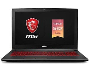 MSI GV62 8RD gaming Laptop