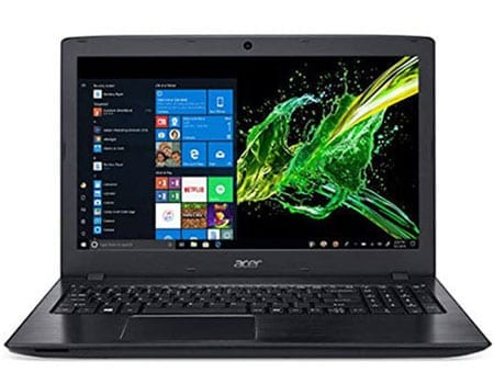 Acer Aspire E 15 - Professional office laptop around 600