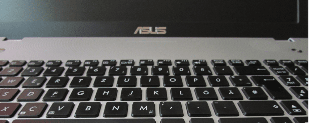 Asus laptop keyboard